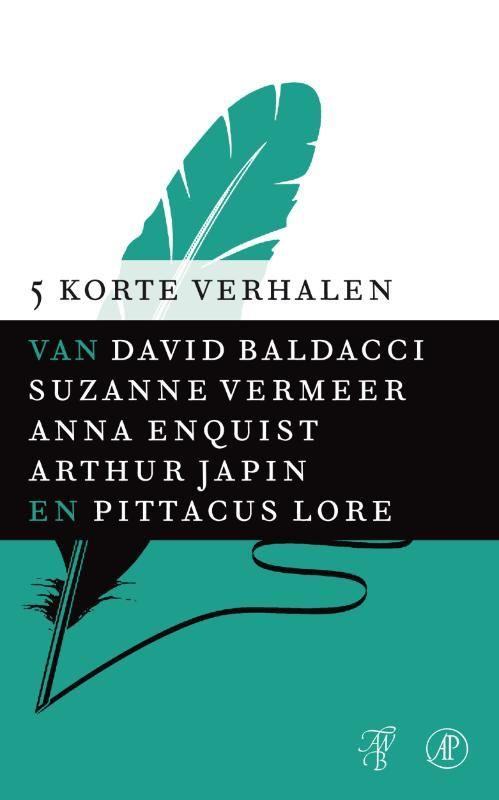 Gevonden via Boogsy: #ebook Vijf korte verhalen van David Baldacci (vanaf € 9,99; ISBN 9789044971125). Ervaar leesplezier voor het gehele gezin met de e-book familiekaart van QINQO. Zowel jong als oud wordt verrast door 5 korte verhalen van de volgende bekende auteurs: David Baldacci - Nachtwerk (thriller) Suzanne Vermeer - Vakantiegeld (thriller) Anna Enquist - Daer een seigneur zijn handen wast (literatuur) Arthur Japin - De Goudkust (literatuur) Pittacus Lore - Zes, het... [lees verder]