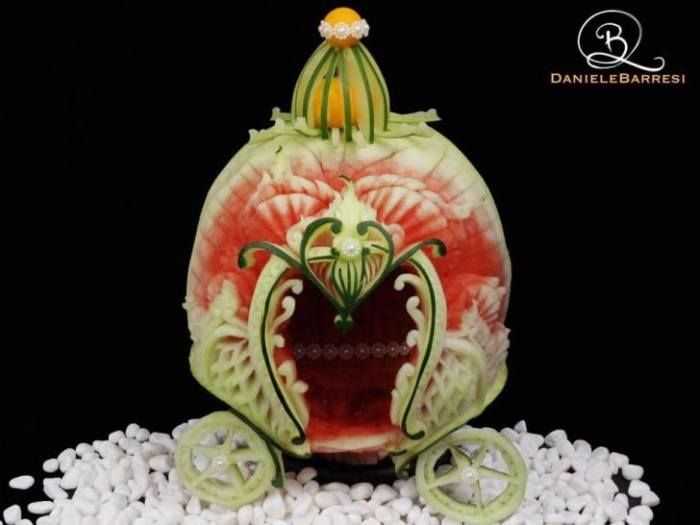 Holy Guacamole! These Intricate Food Carvings are Out of This World