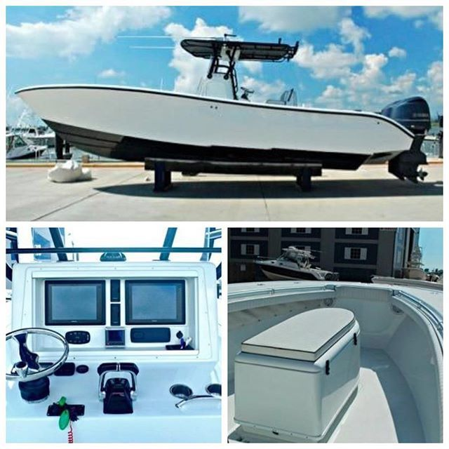 32' Yellowfin 2008 offered for immediate sale. Asking $179,000 and the seller wants offers. Very clean and powered by twin 350 Yamahas with 1100 hours. Twin Garmin 8212, Garmin radar, autopilot, JL Audio stereo. Ameratrail trailer included. For more info call Conrad at 954.336.5732 or conrad@denisonyachtsales.com. BRING ALL OFFERS!