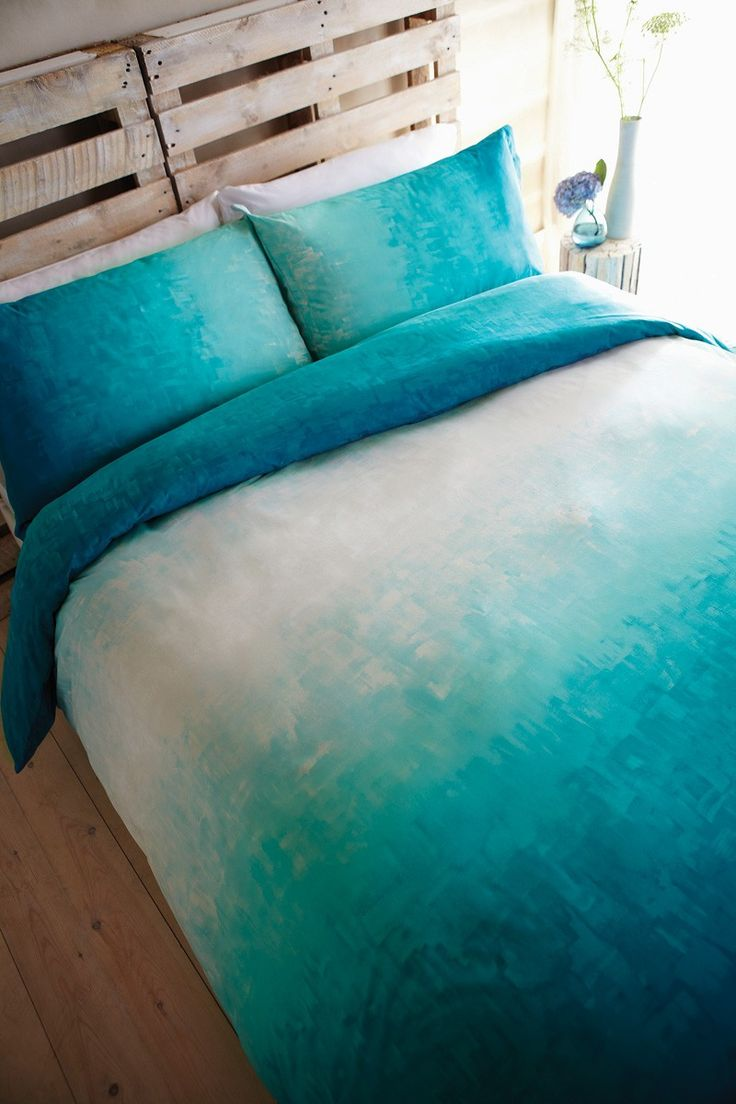 Aqua Duvet Cover King Serene Super King Duvet Cover At