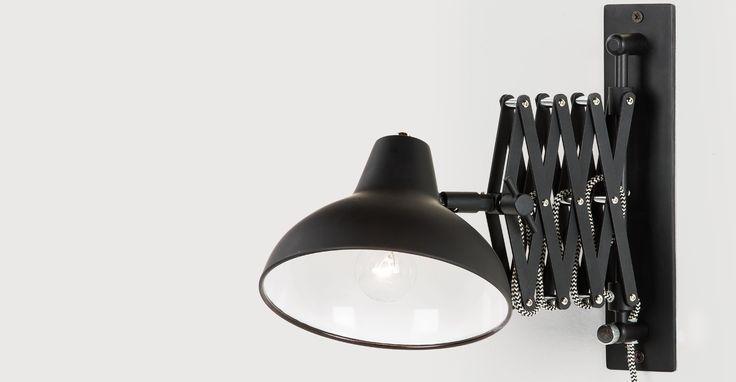 Frosini Wall Light, Black