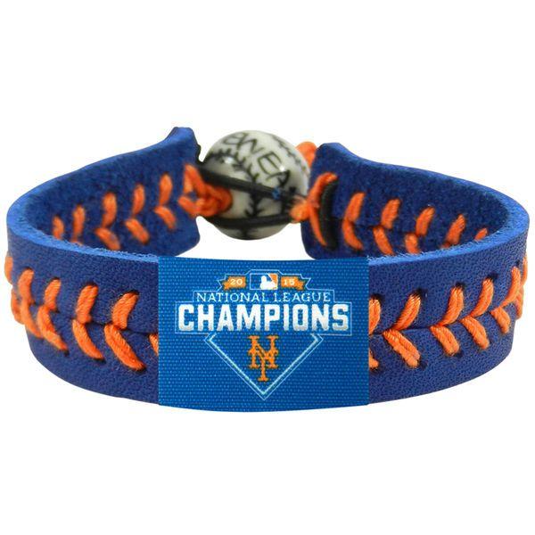 New York Mets 2015 National League Participant BaseBall Bracelet
