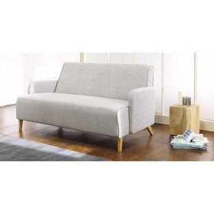 Canapé 2 places gris clair - Adam - Maison du monde - 203,90€