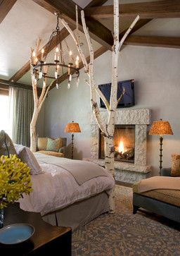 Rockledge Road, Vail Residence contemporary bedroom