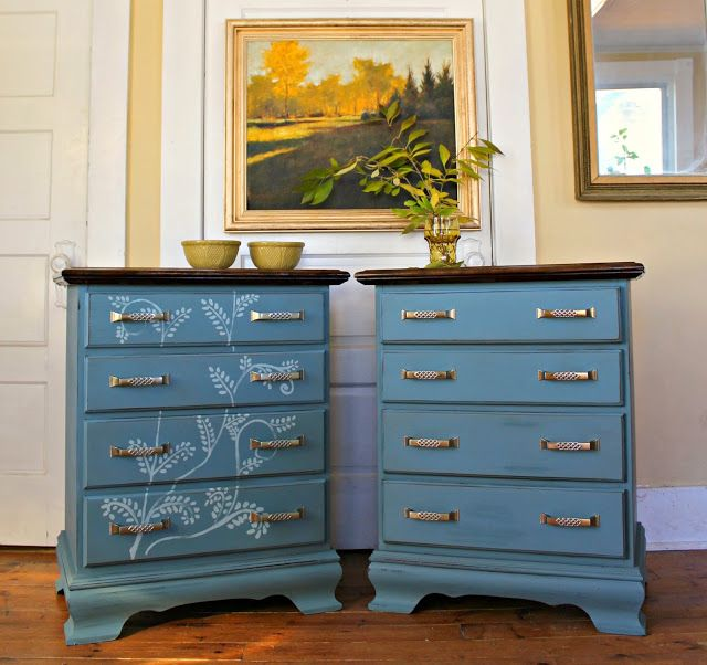 Heir and Space: A Pair of Cherry Nightstands