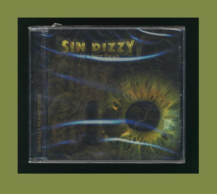SIN DIZZY - He's Not Dead - OZ Fox (Girder Records 2008 CD) *NEW* Metal CCM #Christian