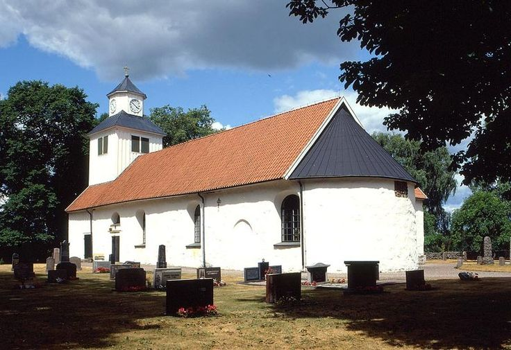 Abilds church, oldest parts from 1100 or 1200. Earlier name was St Johns church.