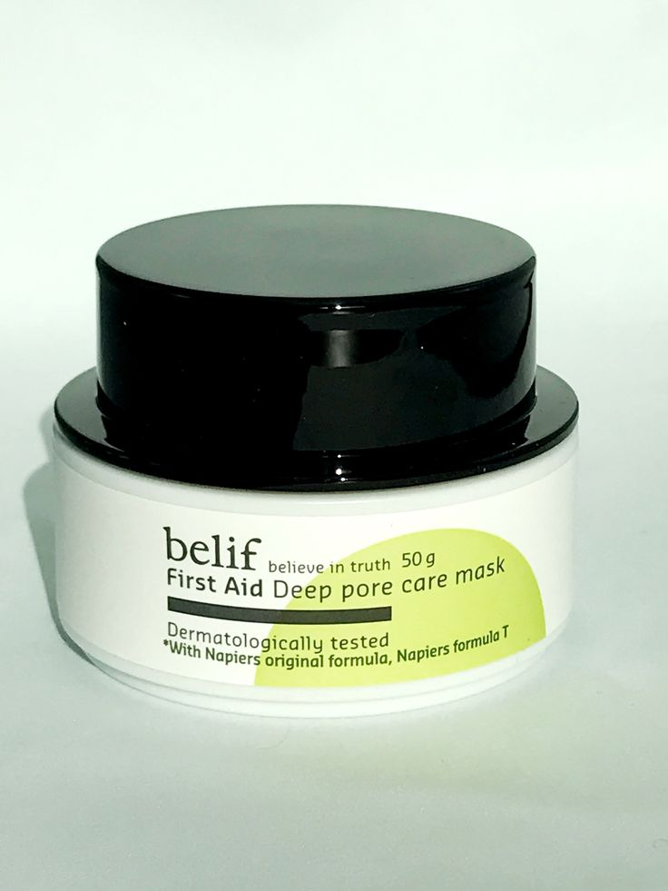 Belif First Aid Deep Care Pore Mask