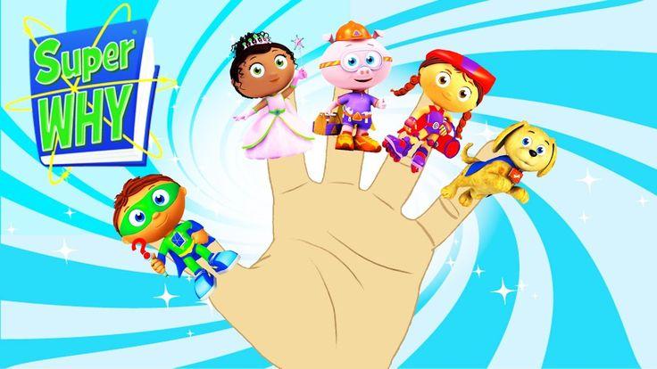 Super Why Finger Family Song!