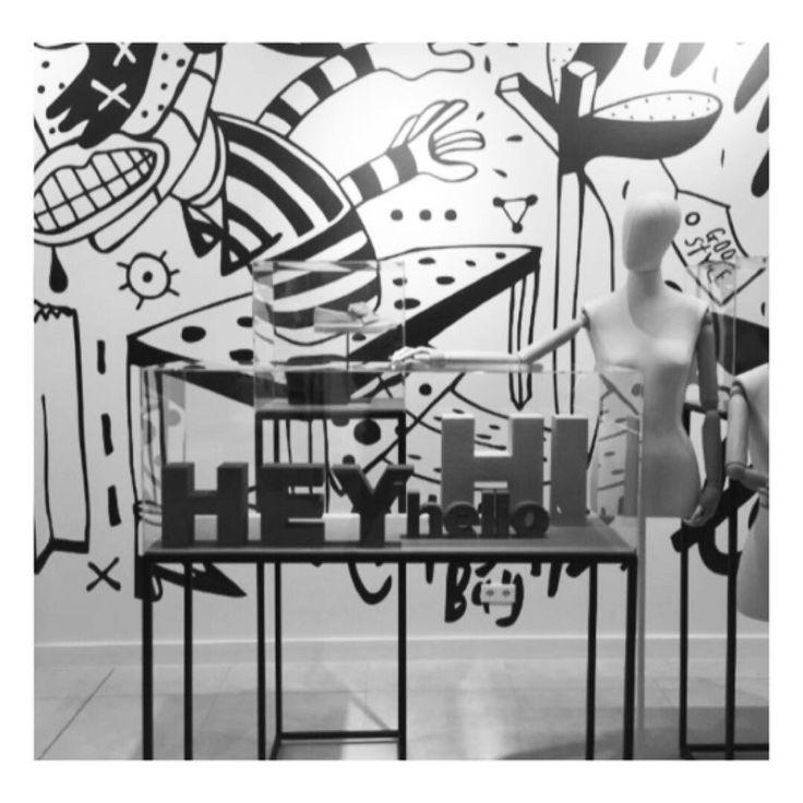 """HUDSON'S BAY COMPANY, AMSTERDAM, The Netherlands, """"The biggest Dutch start-up has open her doors in Amsterdam... Hey, Hi, Hello"""", photo by Moniek van Rheenen, pinned by Ton van der Veer"""
