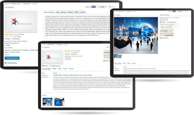 Joomla Business Directory J-BusinessDirectory - Joomla Extensions - CMS Junkie