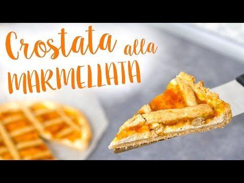 CROSTATA di MARMELLATA e RICOTTA SENZA BURRO + RICETTA BASE della MIGLIORE PASTA FROLLA SENZA UOVA - YouTube