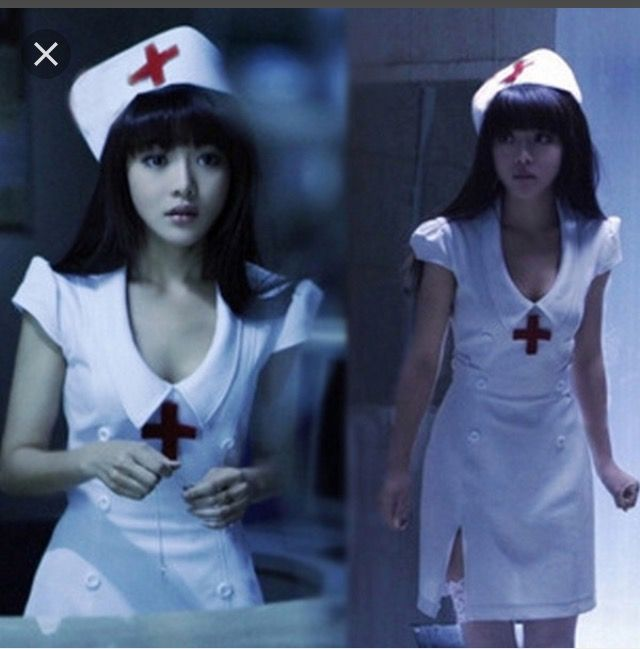 15 year old me dressed as a nurse