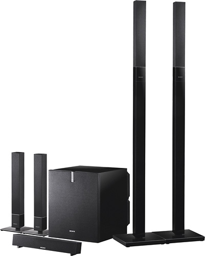 Mind Blowing Home Theaters For Your Dream Homes: SONY SPEAKERS 5.1 600watts SA-VS310H