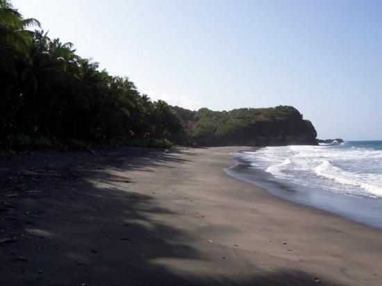 87 best images about island dominica on pinterest for Black sand beach caribbean