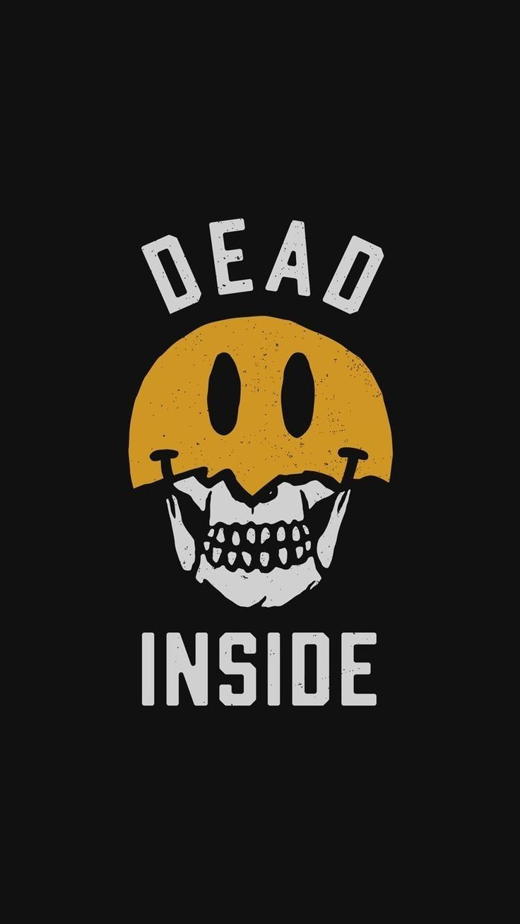Dead Inside Space Iphone Wallpaper Wallpaper Iphone Quotes Trippy Wallpaper