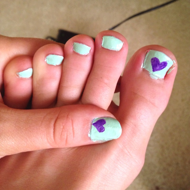 (: nails and toe nails