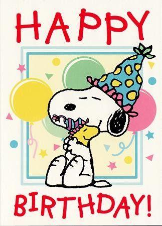 snoopy vignette compleanno - Cerca con Google