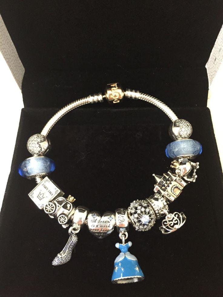 Pandora Disney Cinderella charms