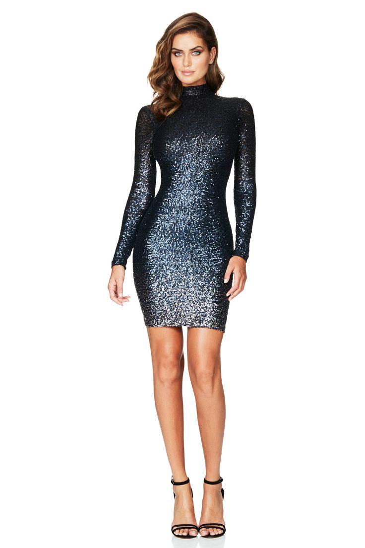 Nookie - Vegas Long Sleeve Midi Dress