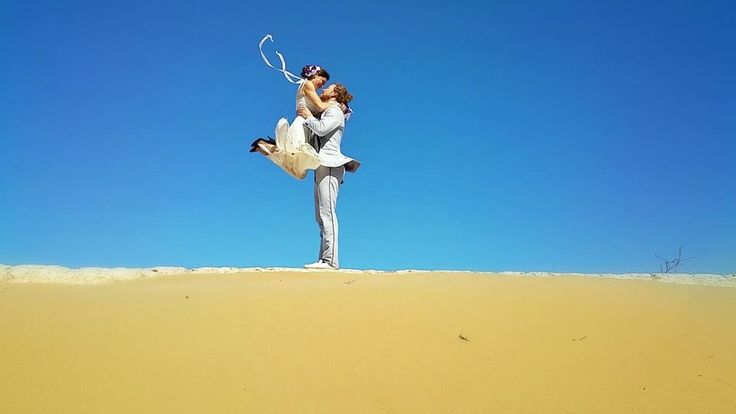 Moroccan Sand Dunes, Morocco This Creative Couple Got Married In 38 Different Places Around The World • Page 5 of 6 • BoredBug