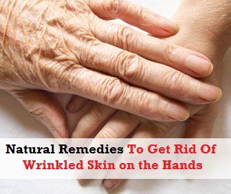 Natural Treatment For Wrinkled Hands