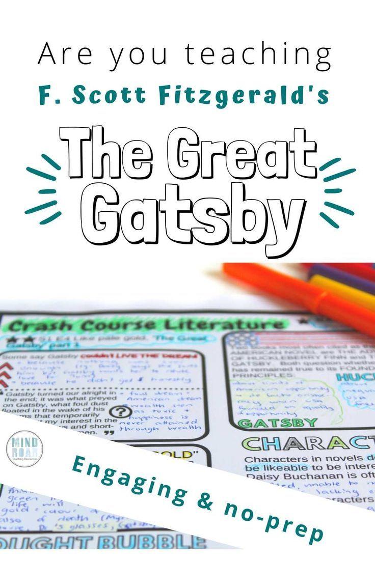 Crash Course Literature The Great Gatsby Part 1 Season 1 Ep 4 In 2020 Crash Course Literature Crash Course Literature