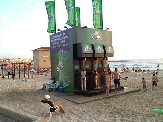 Sprite shower, anyone?