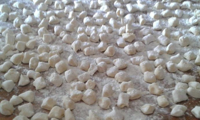 Domácí italské gnocchi