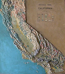 Large scale relief map of CA, @1939 | CA Water Related | Pinterest ...