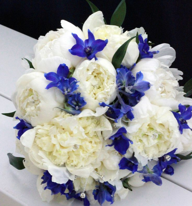 delphinium bouquet - photo #20