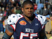 Michael Sam, NFL draft prospect. Gay man. It only takes one. One to start the conversation. One to open minds. One to open doors. But it takes tremendous courage and a huge heart to be the FIRST one.