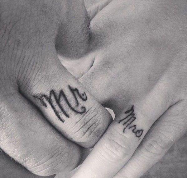 20 tatouages qui rendent totalement inutiles les bagues de fiançailles...