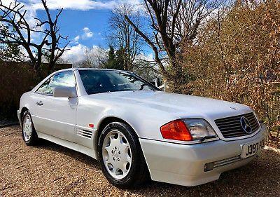 eBay: 1992/J - Mercedes 300SL-32 R129. 43k miles. Immaculate. Warranty. 500SL #classiccars #cars