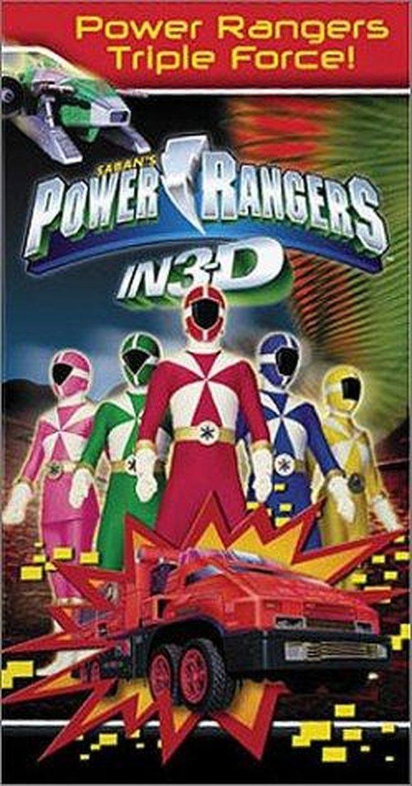 Power Rangers in 3D: Triple Force (Video 2000)