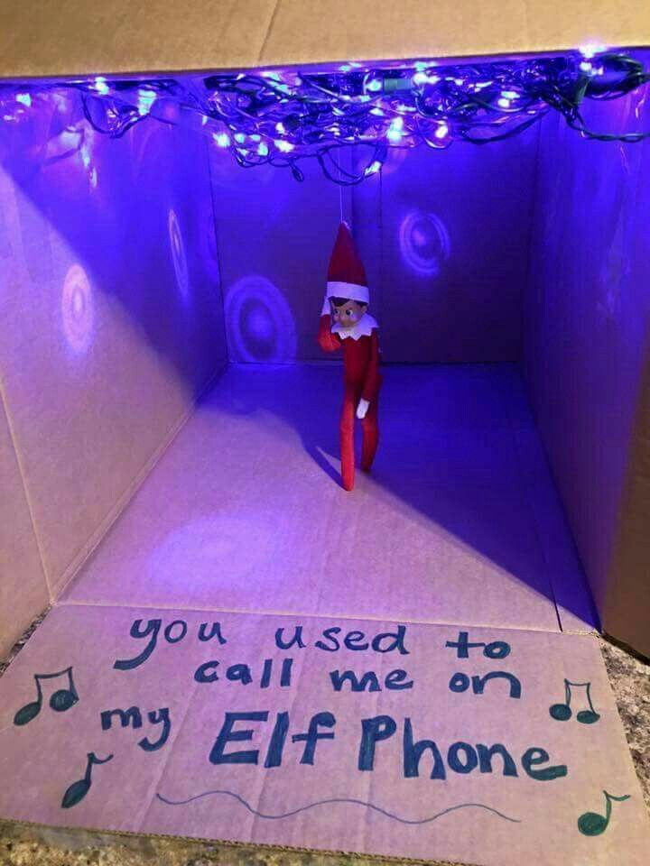 Pop star elf