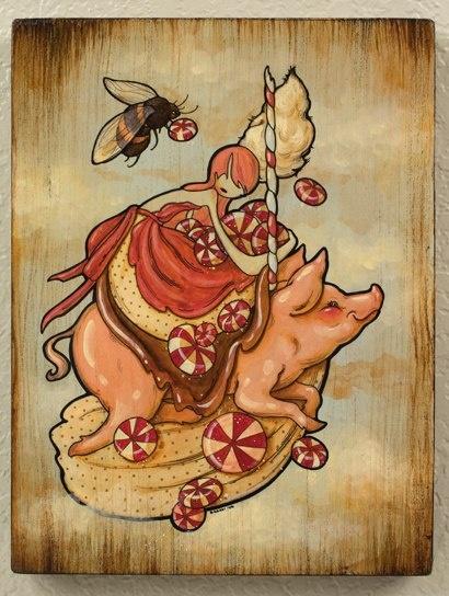*Pigs Cochon, Milne Art, Artists Spotlight, Art Inspiration, Art Lov, Artsy Fartsy, Brandimiln Art, Inspiration Art, Brows Art