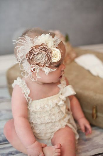 Vintage Baby Headband and I love this outfit too!