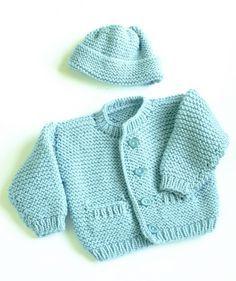 Robert Cardigan Pattern (Knit)