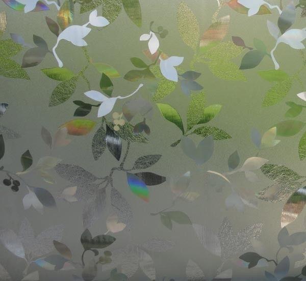 Fancy Fensterfolie Bl tter GLC LINEAFIX statische Dekorfolie Meterware