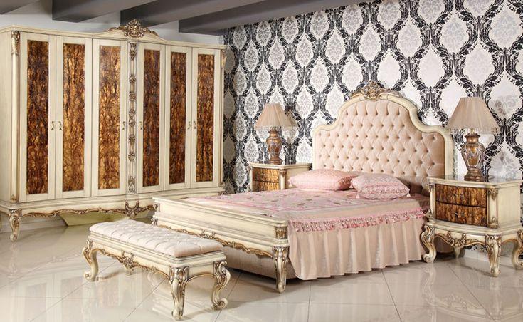 El işçiliği ile boyanan yatak odası takımındaki kapak ve çekmece bölümleri doğal damlatma yöntemi ile boyandı. http://www.asortie.com/yatak-odasi-218-Akasya-Klasik-Yatak-Odasi