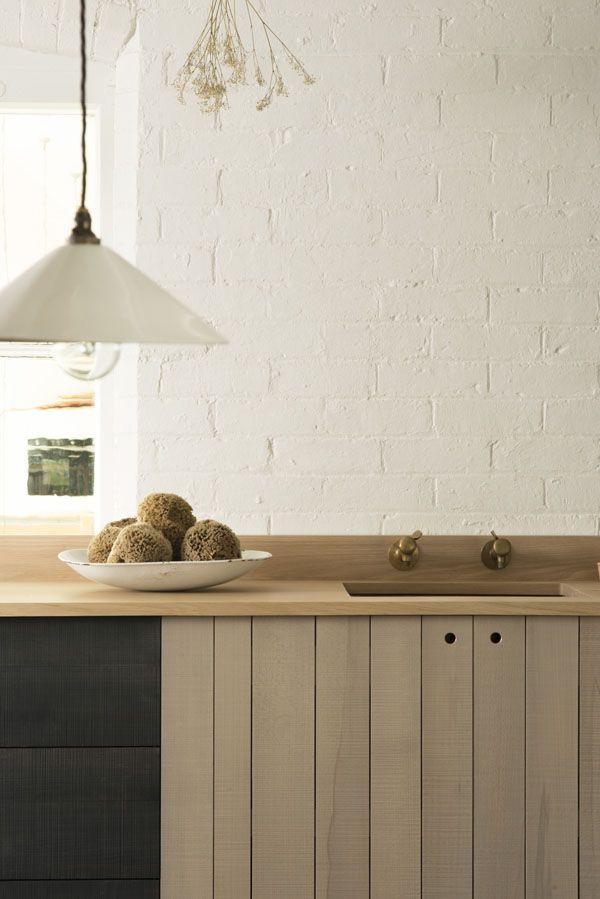 Une cuisine moderne & rustique | Modern rustic kitchens