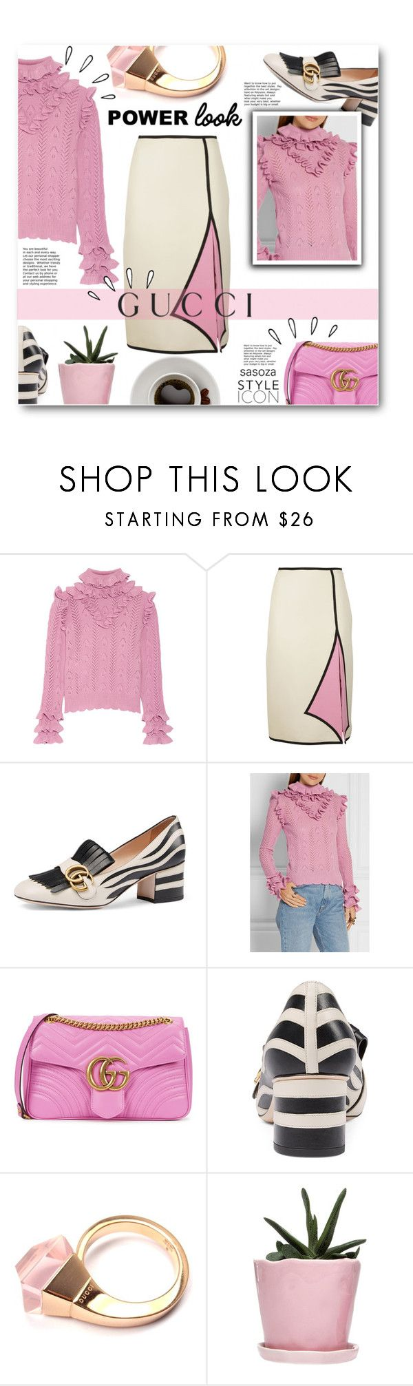 """Fall fashion 3 by Sasaza"" by sasooza ❤ liked on Polyvore featuring Gucci, Old Navy and Dot & Bo"