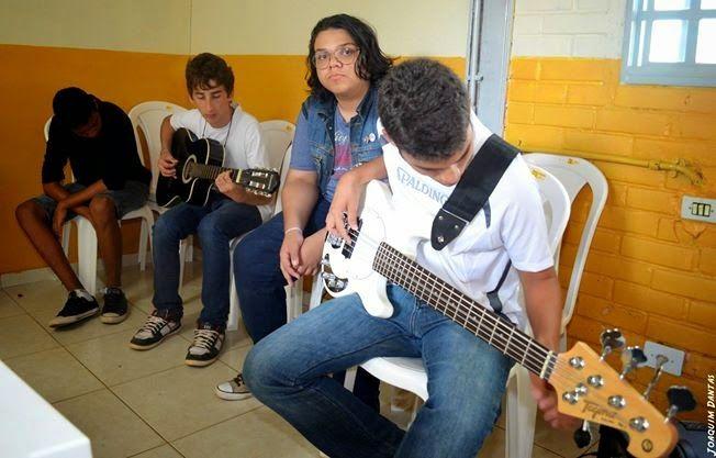 BLOG DO ARRETADINHO: Jovens talentos da música são promessa no Gama