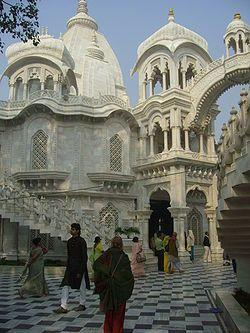 Sri Krishna-Balaram Mandir temple in Vrindavan India... the intricate nature of this place is fascinating.