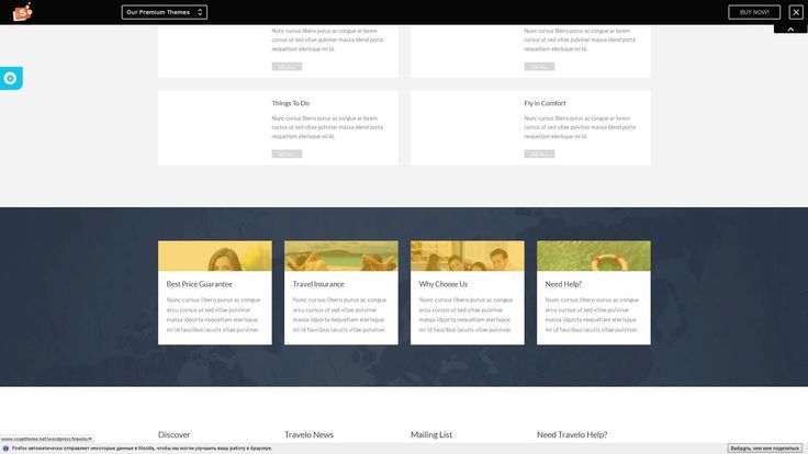 Travelo - Responsive Wordpress Booking Theme