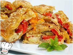 ΠΙΠΕΡΟΠΙΤΑ ΝΗΣΤΙΣΙΜΗ ΜΕ ΦΑΝΤΑΣΤΙΚΟ ΦΥΛΛΟ!!!   Νόστιμες Συνταγές της Γωγώς