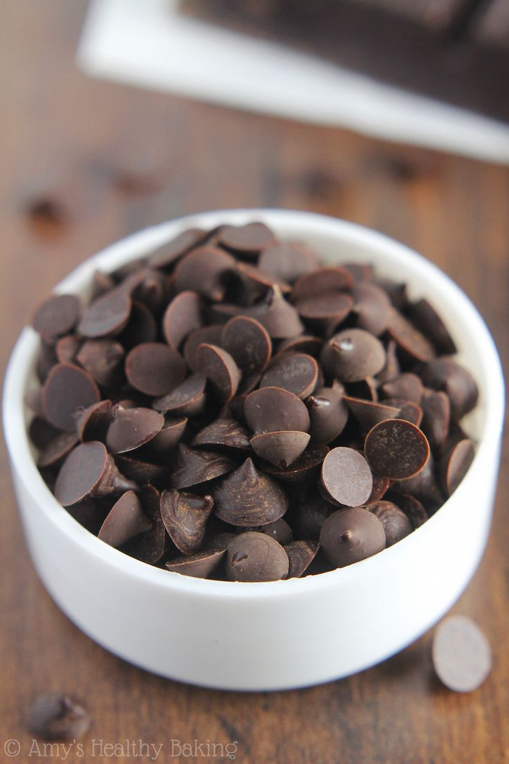 Healthy Recipe: Healthy Homemade Dark Chocolate Chips -- You Just Need 2