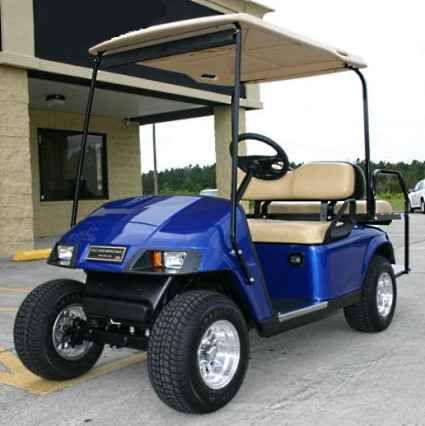 17 melhores ideias sobre electric golf cart no new 2012 ez go pds 36v blue electric golf cart w speed chip atvs