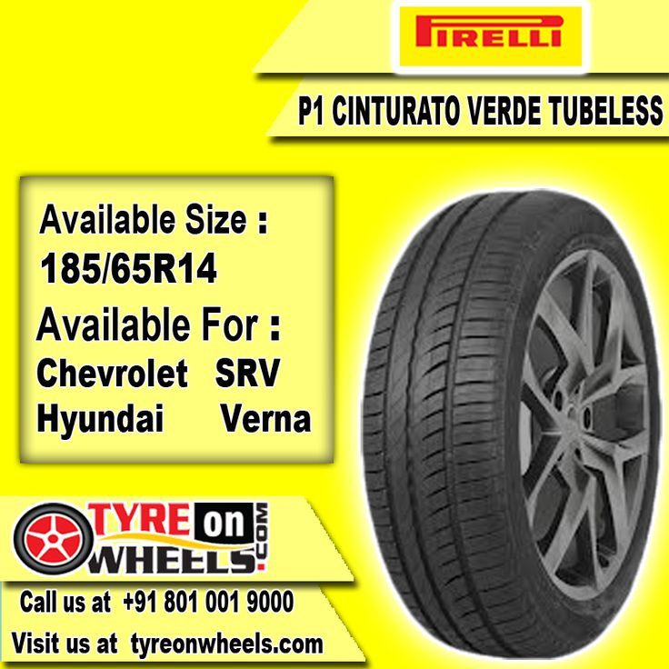 Buy Tyres Online of Pirelli P1 Cinturato Verde Tubeless Tyres for Hyundai Verna Car Size 185/65R 14 also get fitted with Mobile Tyre Fitting Vans at your doorstep at Guaranteed Low Prices buy now at http://www.tyreonwheels.com/tyres/Pirelli/P1-CINTURATO/365